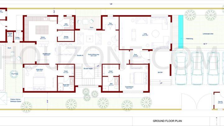 6 bedroom pool house-Luxury-design