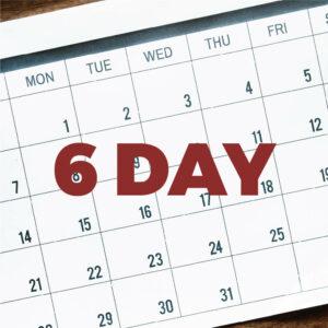 6Day Calendar