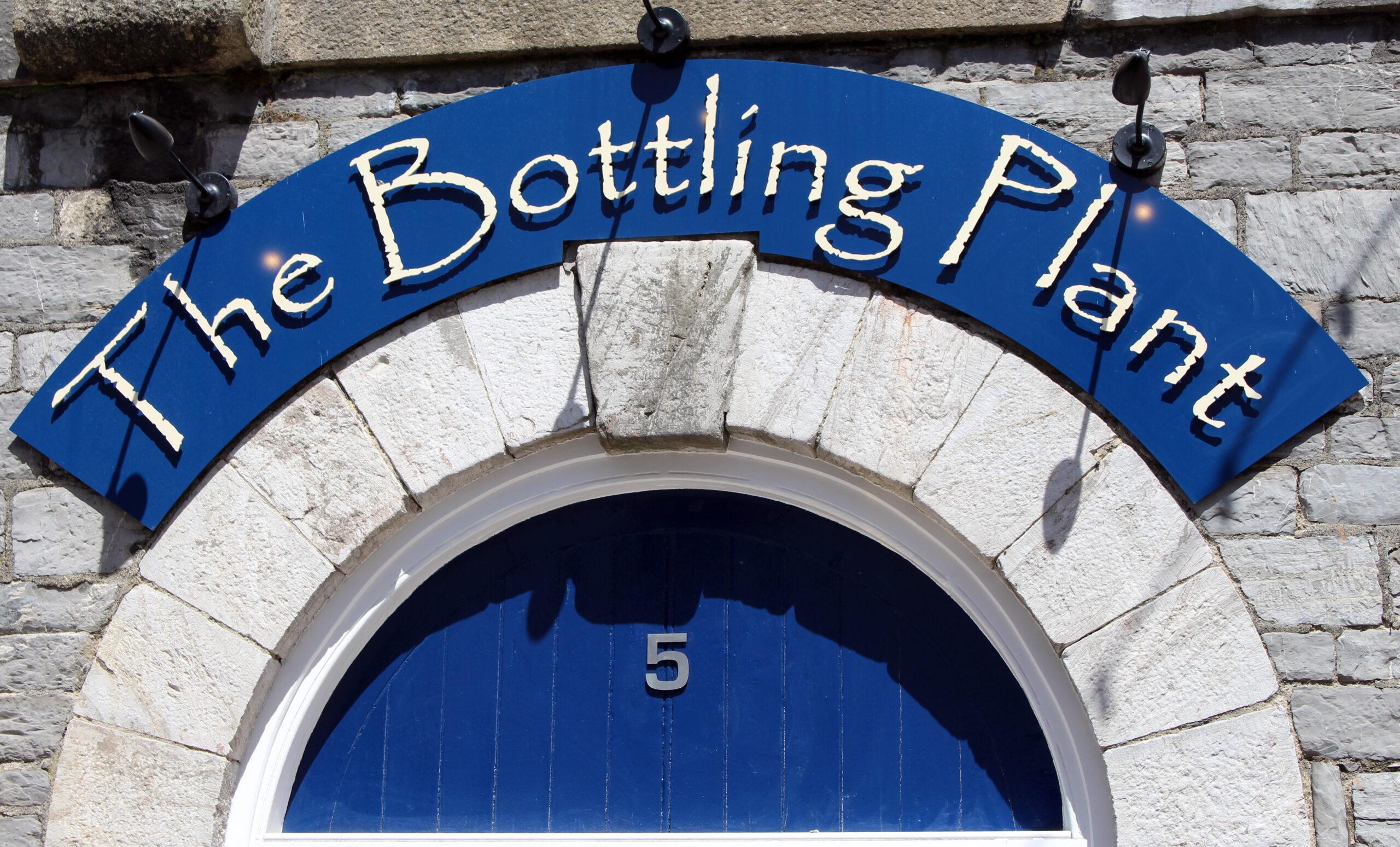 The Bottling Plant Front Sign