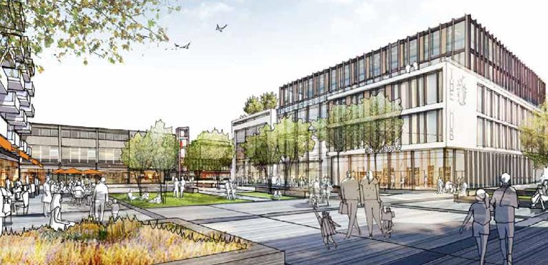 Garden Square & The Hub