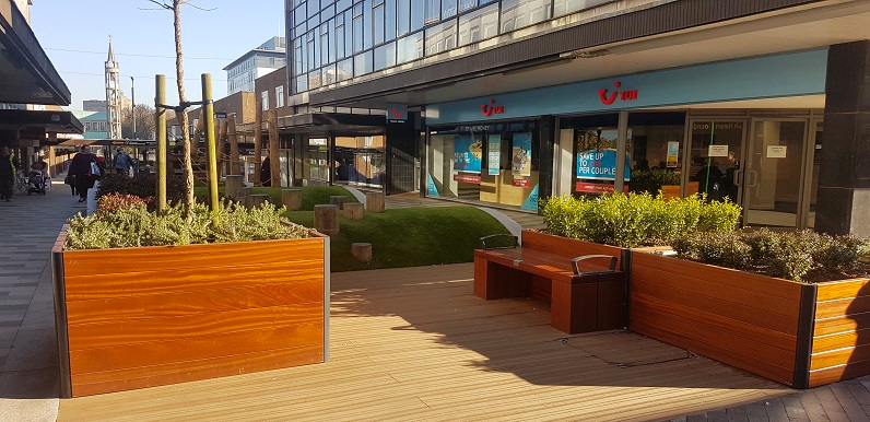 Market Place Highly Commended in 2020 Street Design Awards