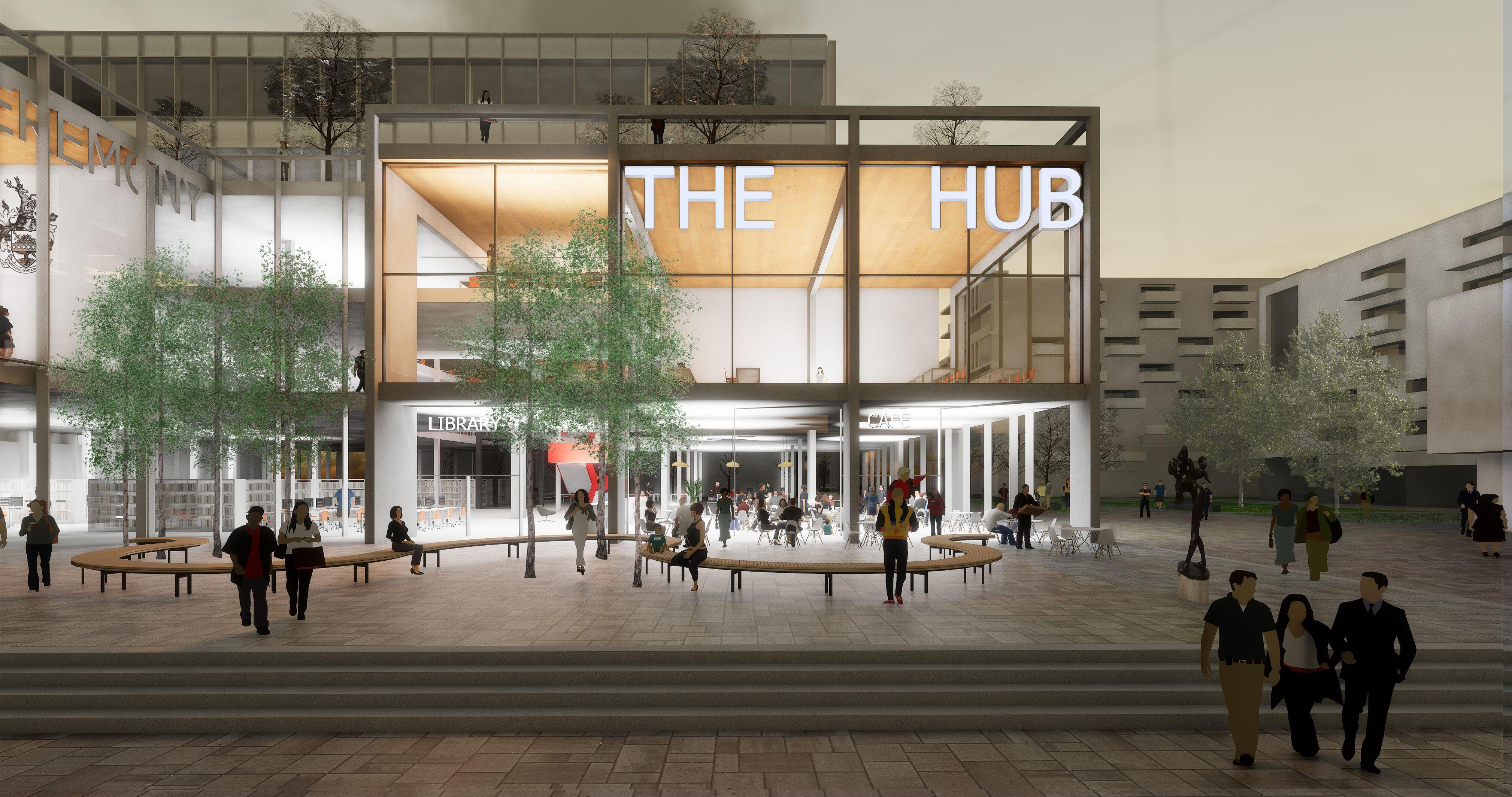 Garden Square/The Hub