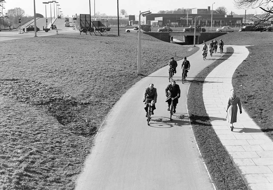 Stevenage cycle path