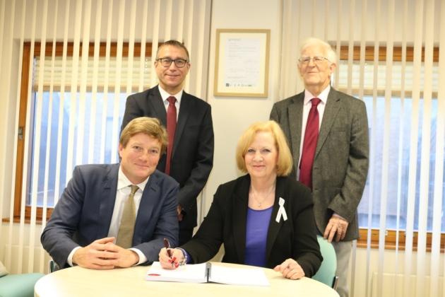 Queensway signing