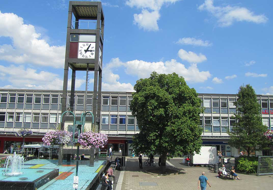 Stevenage first new town