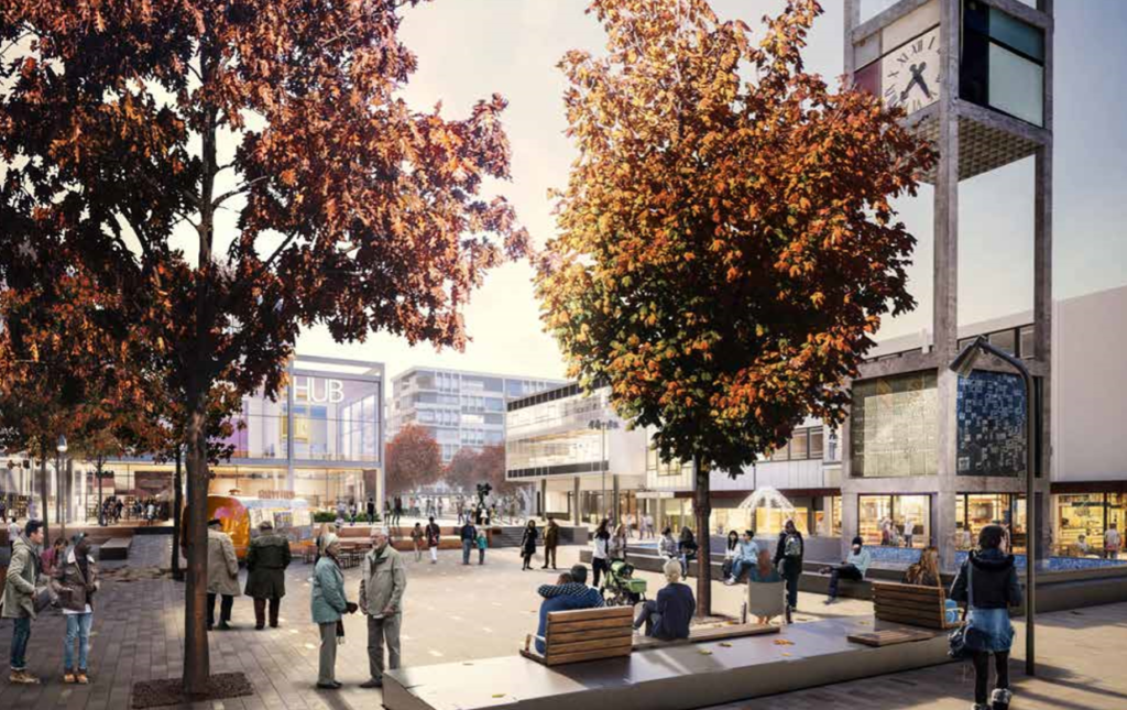 Stevenage Town Square