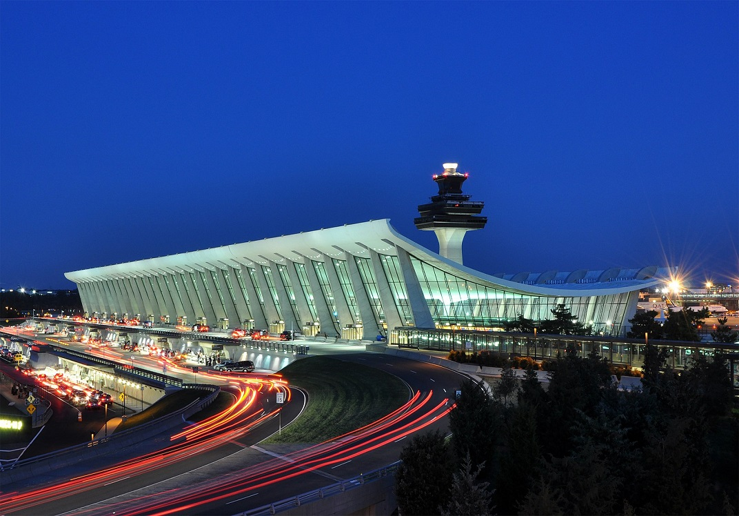 Airports within 45 minutes