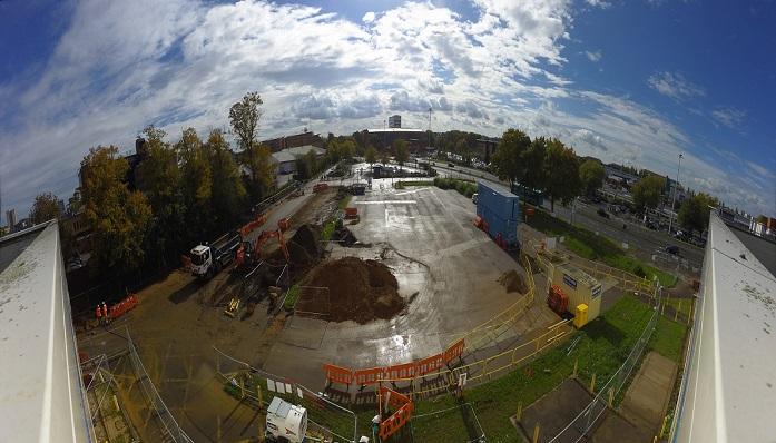 Works begin on new bus interchange in Stevenage Town Centre