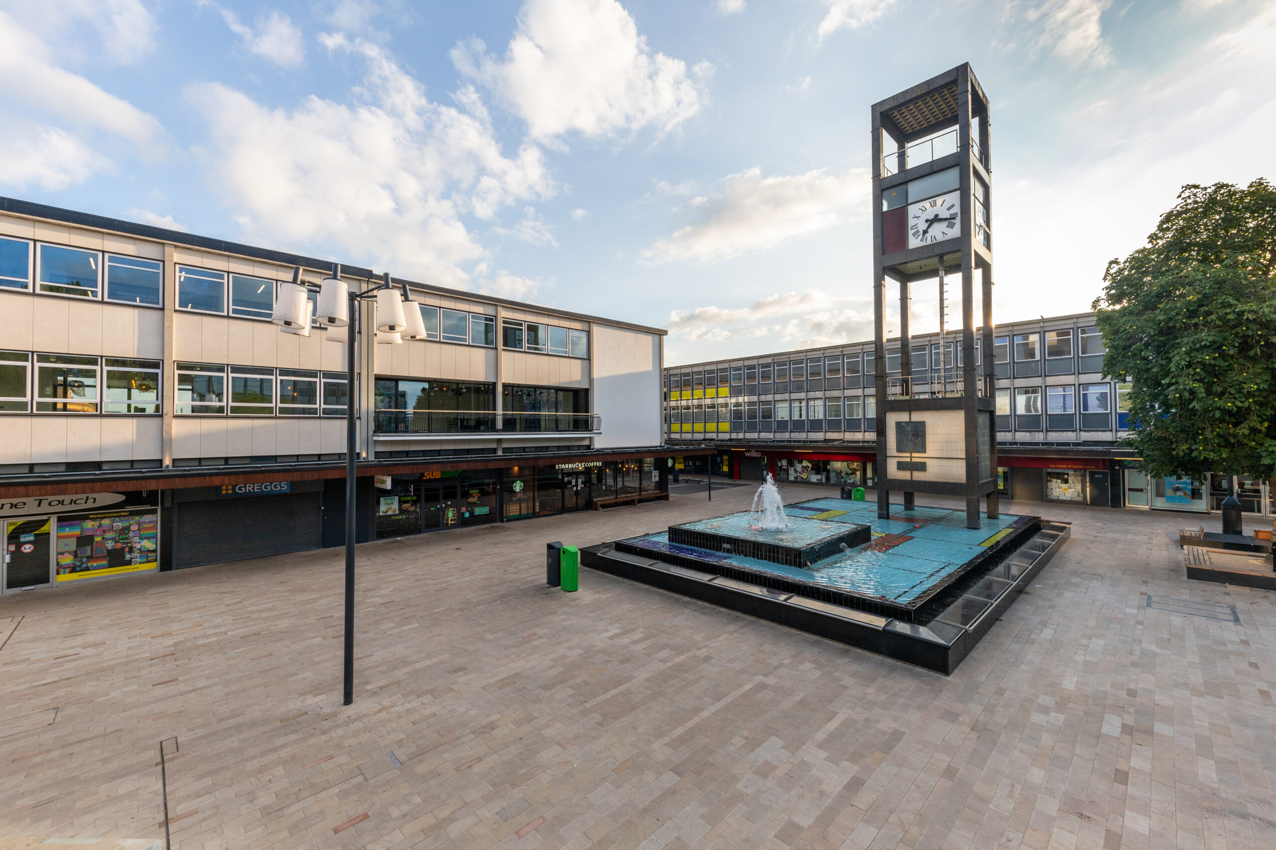 Stevenage celebrates completion of the Town Square and North Block