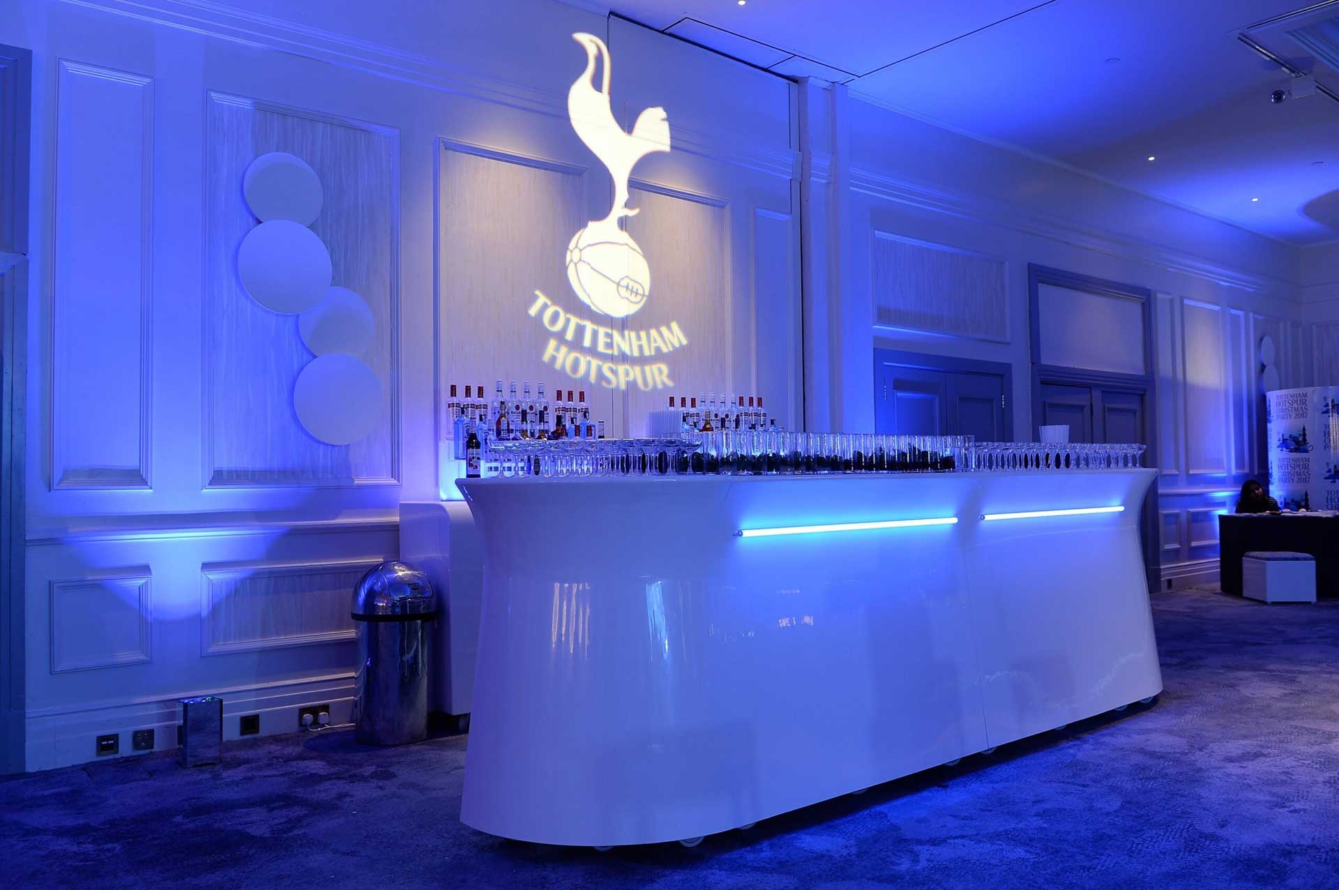 'Tottenham Hotspur VIP Christmas Party'
