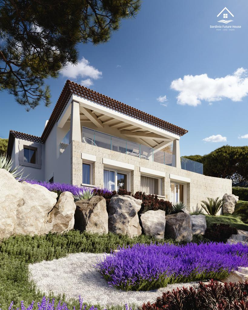 Rif.10509 Villa singla con infinity pool, Località Agrustos Budoni
