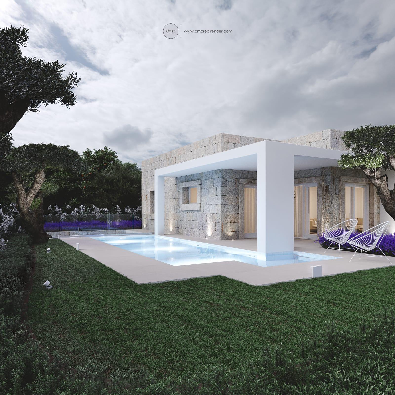 Rif.9917 Villa di nuova costruzione in vendita ad Olbia
