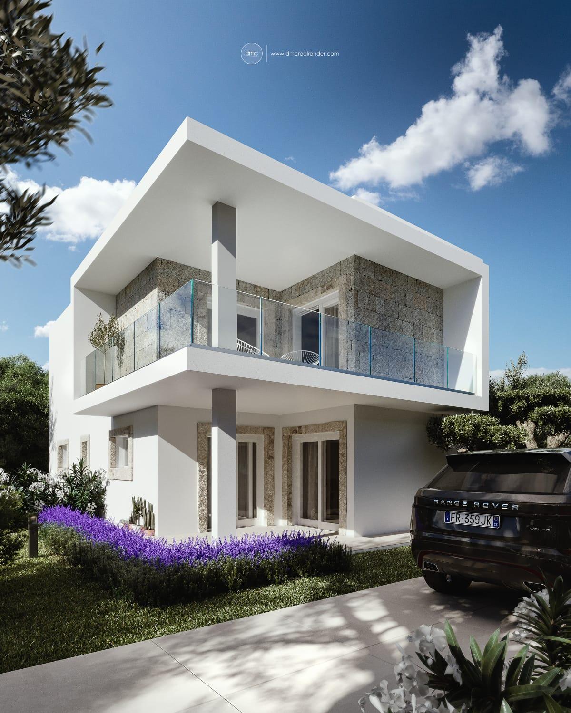 Rif.9939 Villa bifamiliare di nuova costruzione in vendita, Olbia