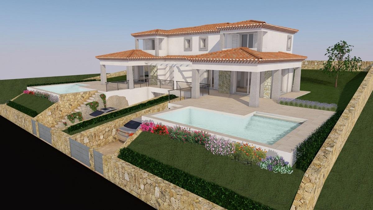 Villa moderna bifamiliare in vendita - Budoni