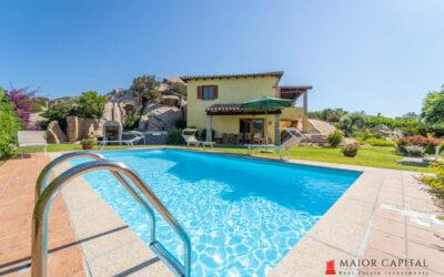 San Teodoro | Cala Ginepro | Villa con piscina e vista mare