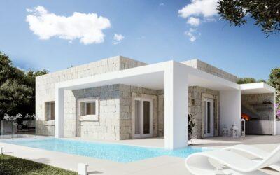 Olbia   Viale Aldo Moro alta   Villa moderna con piscina