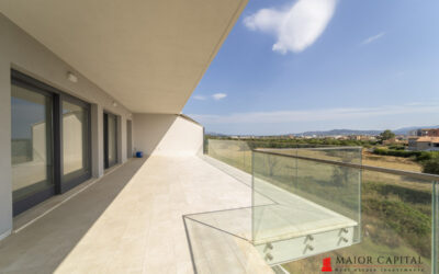 Olbia | Modern penthouse with splendid view