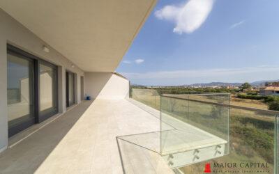 Olbia | Moderno attico con vista panoramica
