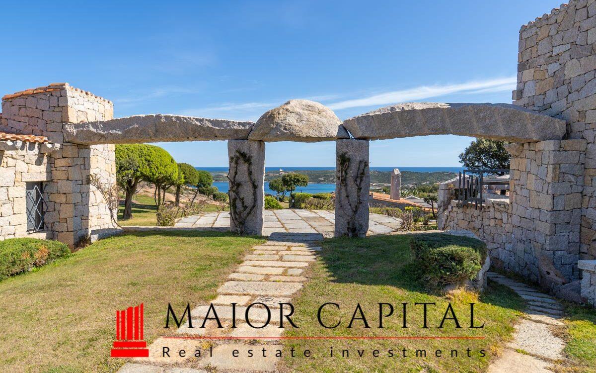 Porto Cervo | Incantevole villa con vista mare
