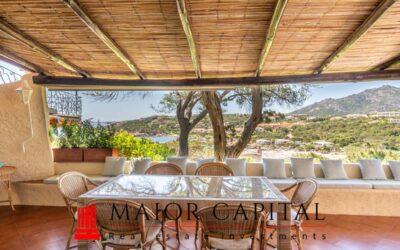 Porto Cervo | Cala Granu | villa con vista panoramica
