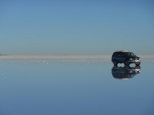 Bolivia Salt Desert - straightened