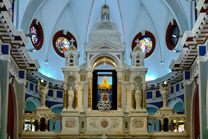 Cuba Bayamo El Cobre church