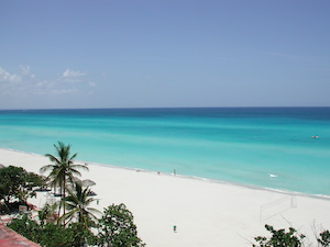 Cuba Varadero Sea