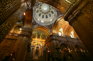 Ecuador La Compania Church