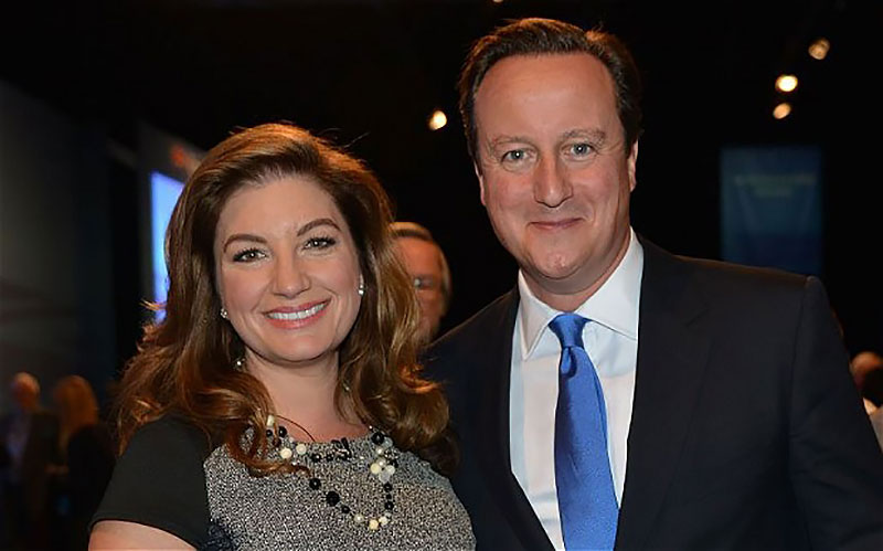 Karren and David Cameron
