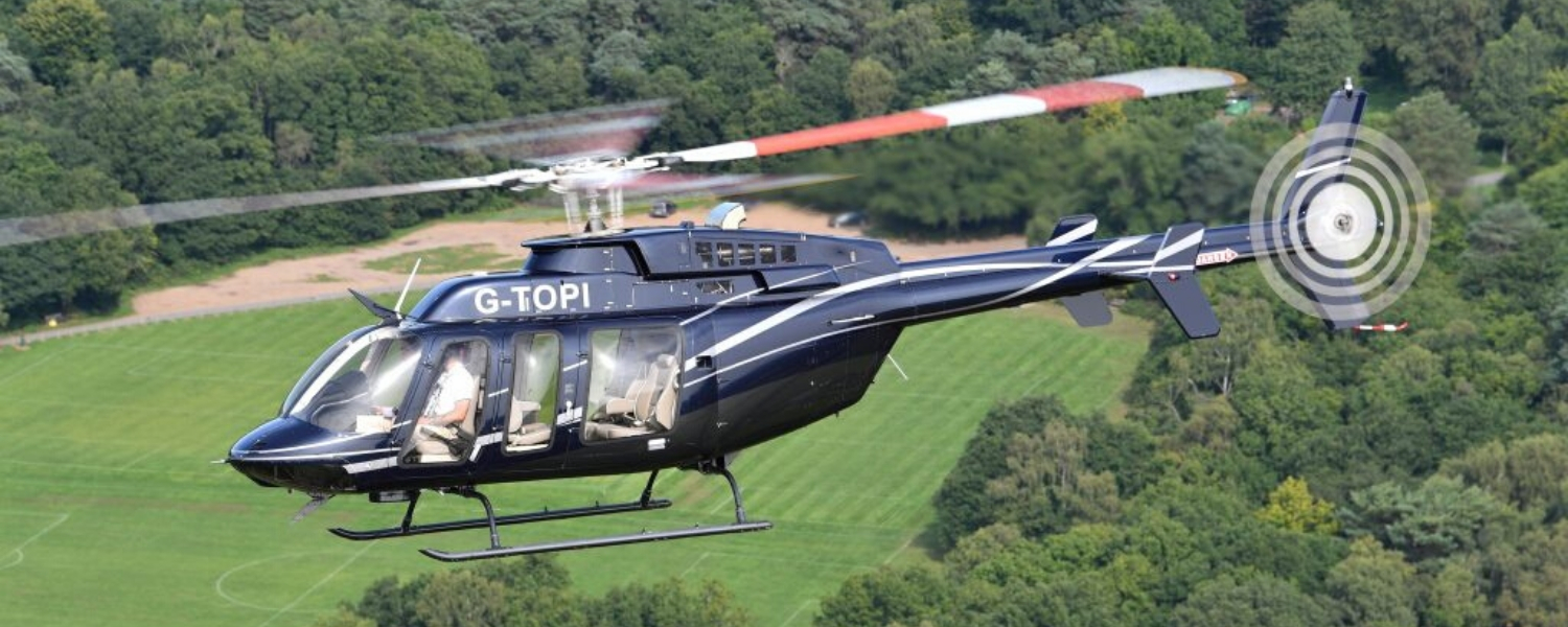 Business Helicopter Charter UK 1
