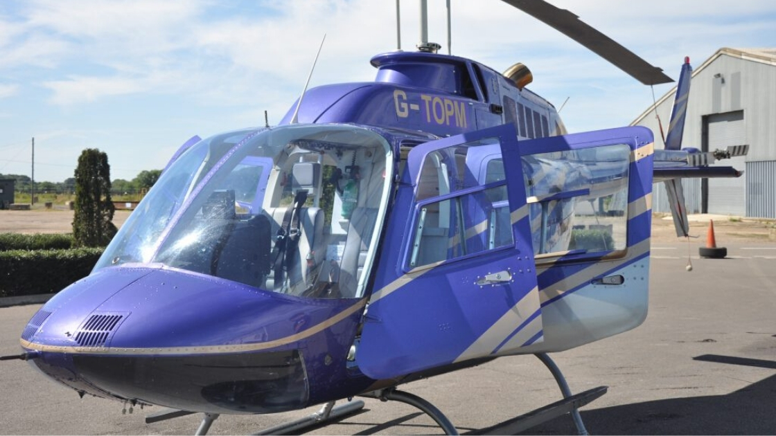 Helicopter Charter Hire Silverstone Cheltenham Ascot 8