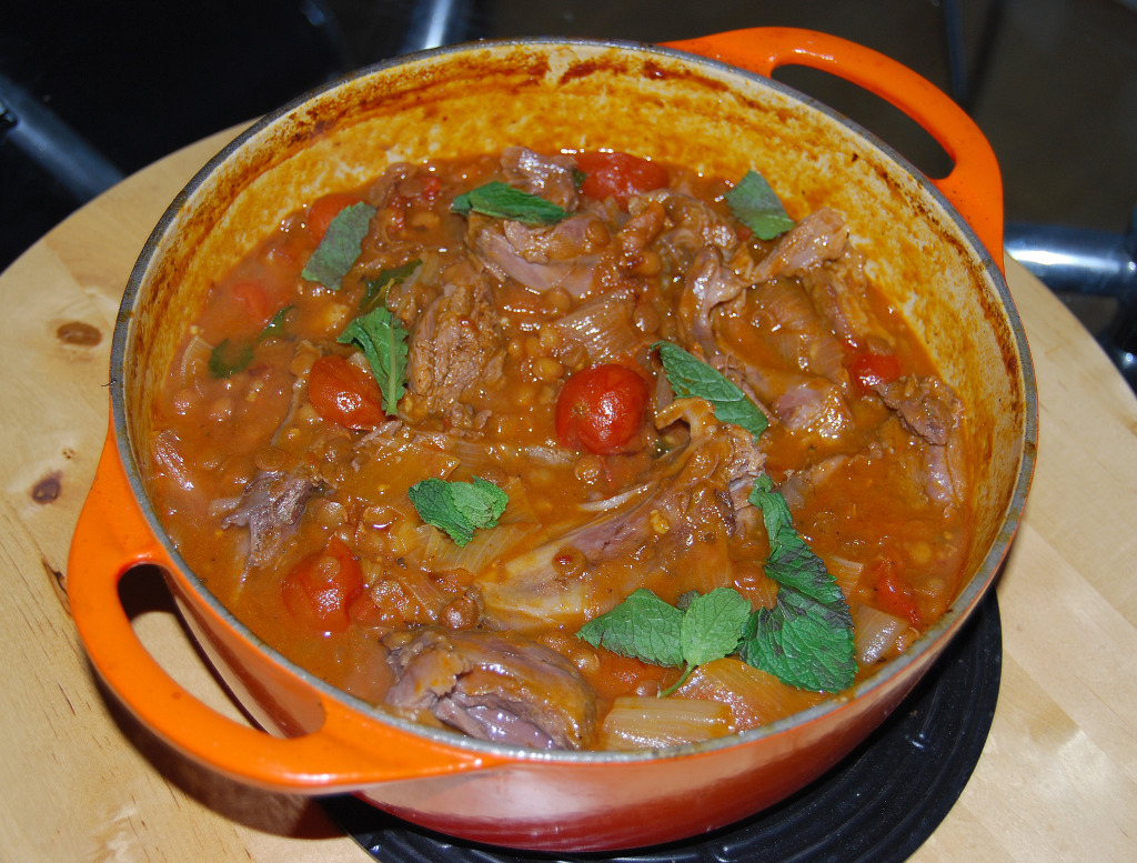 Lamb Shanks with Chilli Chipotle