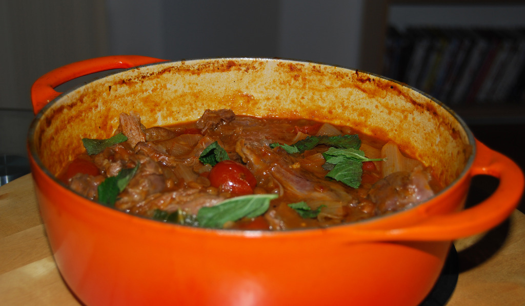 Lamb Shanks with Chilli Chipotle (angled)