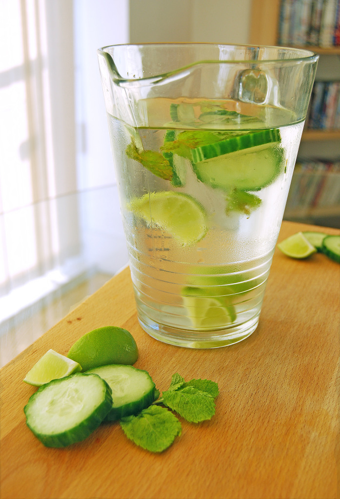 cucumber water (central)