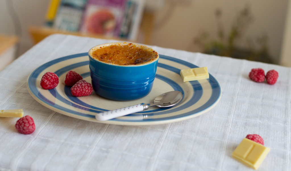 creme brulee raspberry
