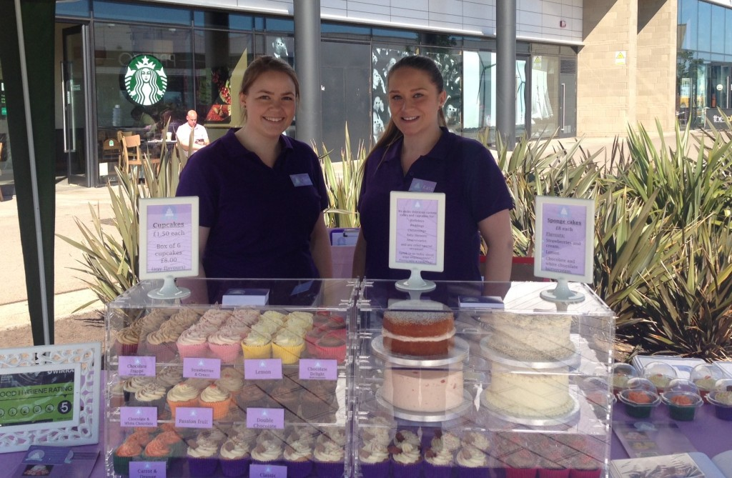 Clare and Kate from Cake Believe