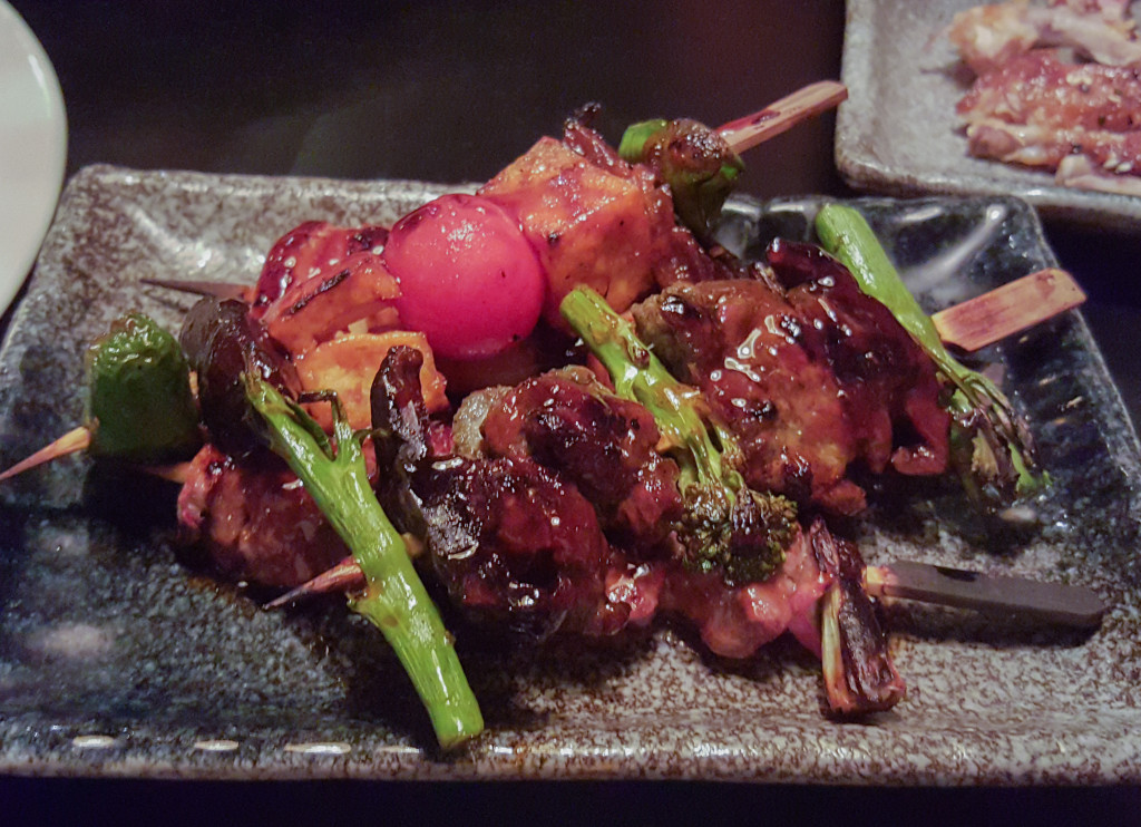 Mixed Yakitori Sharer