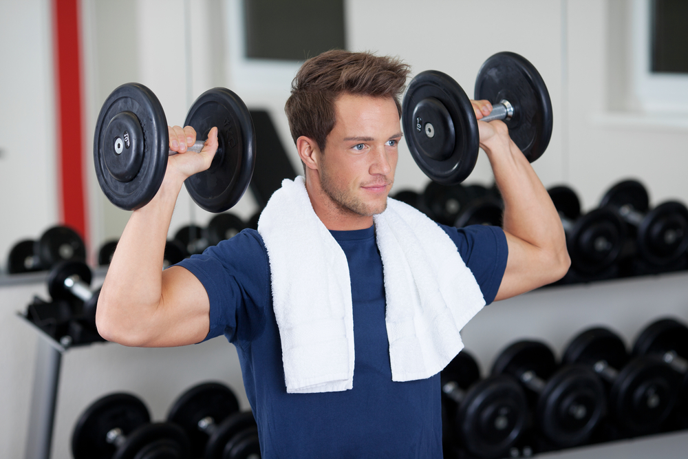 shoulder-press-free-weight-training