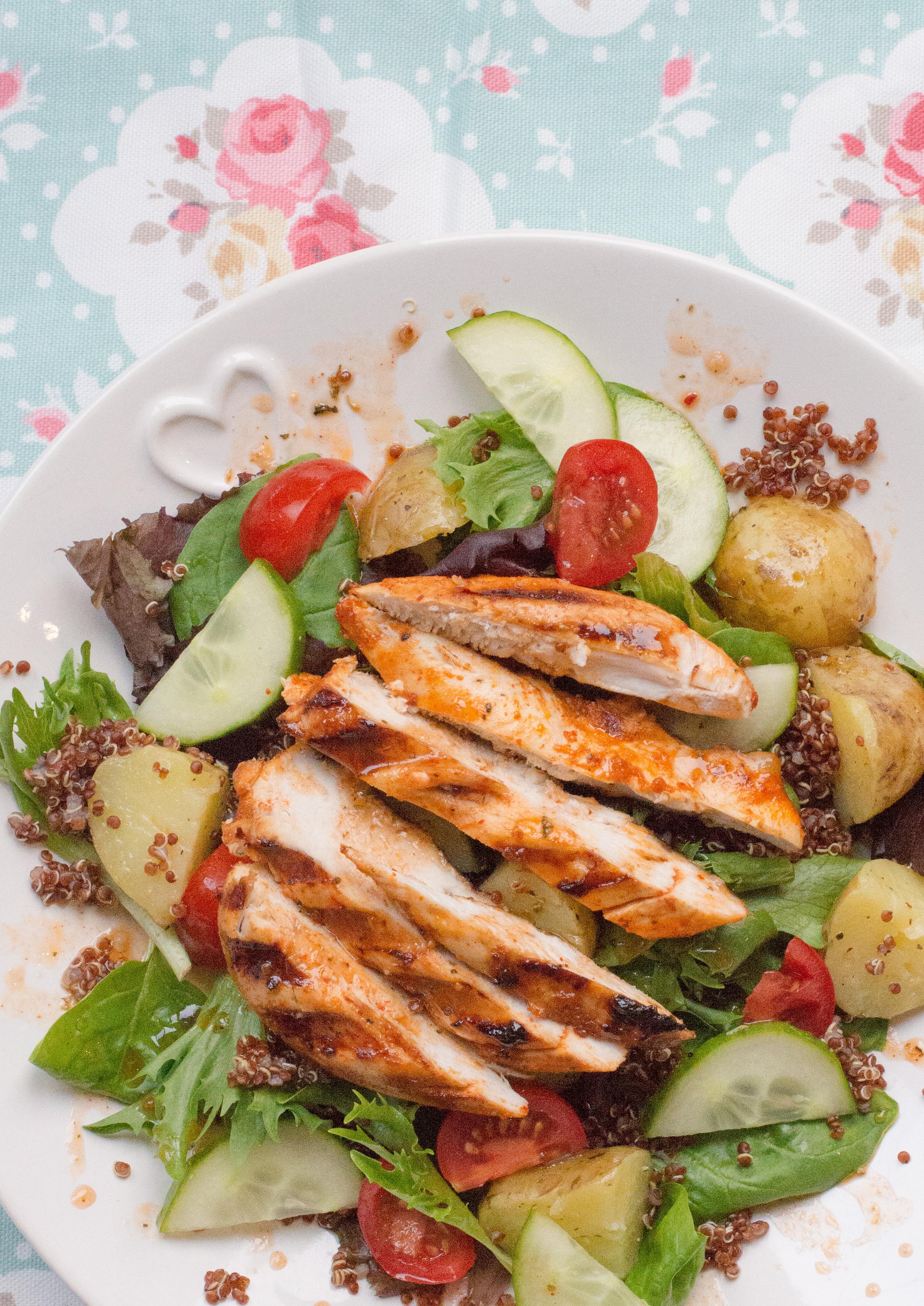 tefal-optigrill-warm-chipotle-chicken-salad-4