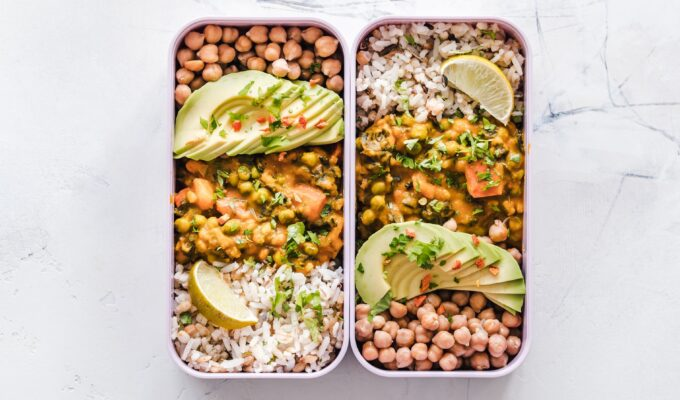 How to get your protein on a vegan diet using meal prep