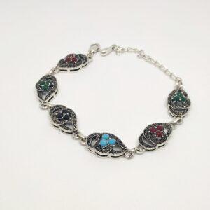 Oxidised Silver Bracelet BR-339-47
