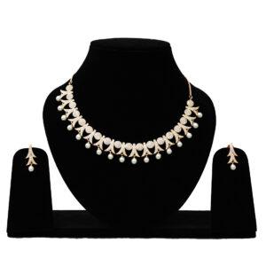 American Diamond Necklace 401607