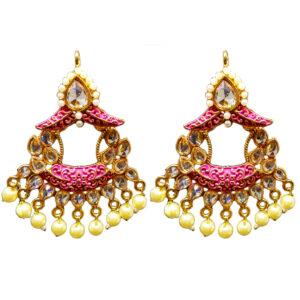 Partywear traditional earrings ER-6850-42