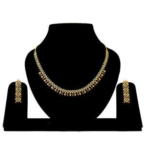 Designer American Diamond Necklace 402877