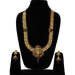 Kemp Design Laxmi Ji Temple Necklace NS-1489-195