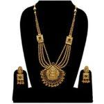 Long Partywear Temple Necklace NS-5841-319
