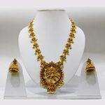 Nataraja Matte Gold Temple Set NS-5991-218