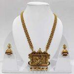 Stylish Temple Necklace Pendant Set PS-2214-436