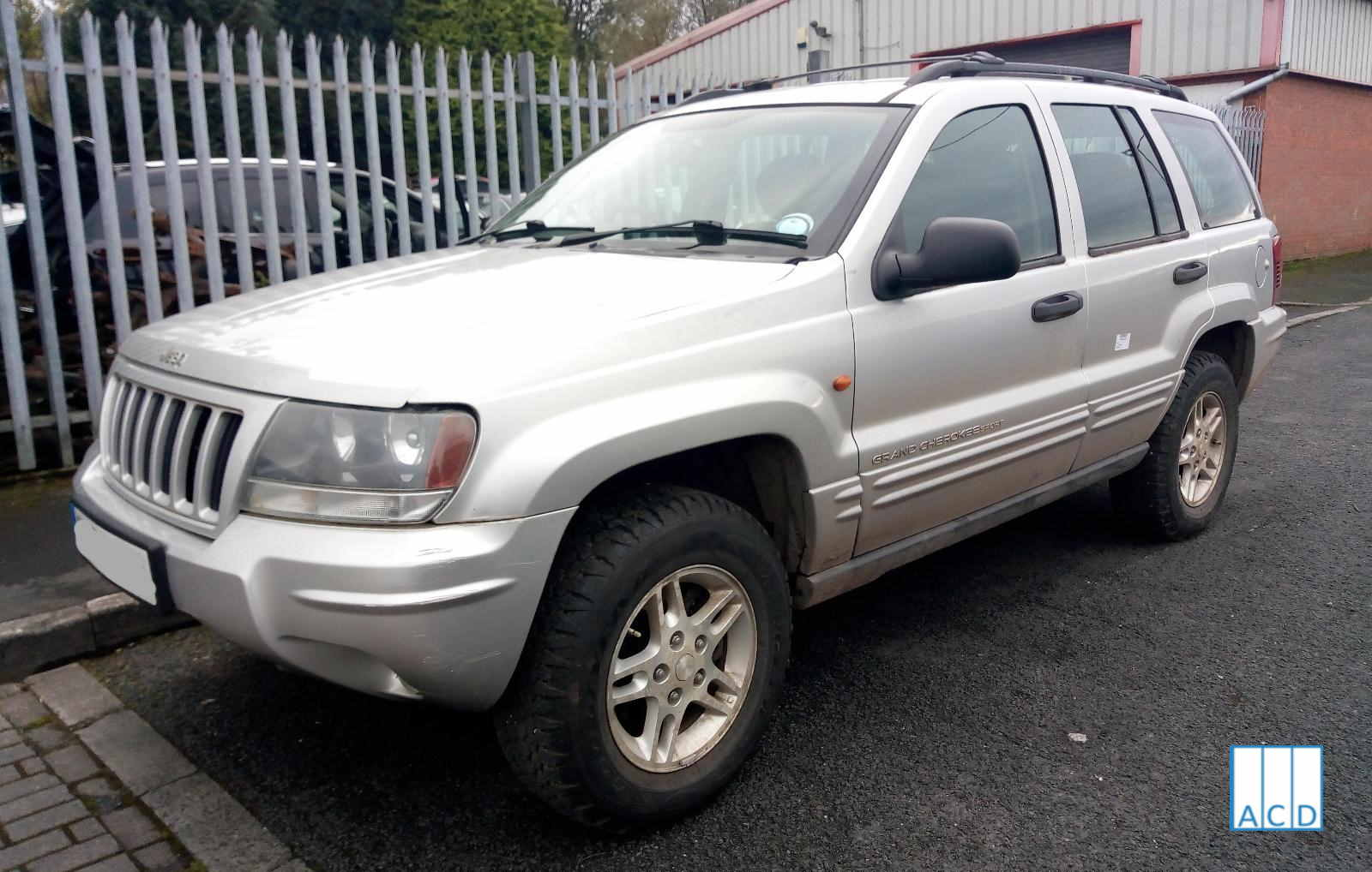 2.7L Grand Cherokee parts for sale