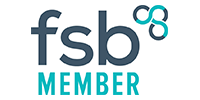 Logo for the Federation of Small Businesses (FSB) member